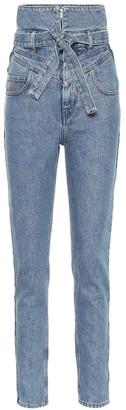ATTICO High-rise straight jeans