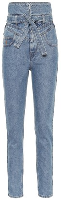 ATTICO The High-rise straight jeans