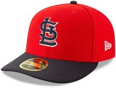 New Era Men's Red/Navy St. Louis Cardinals 2019 Batting Practice Low Profile 59FIFTY Fitted Hat