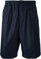 Marni elastic band shorts - men - Cotton/Polyamide - 48