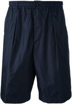 Marni elastic band shorts - men - Cotton/Polyamide - 50