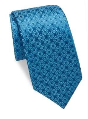 Charvet Medallion Silk Tie