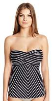 CoCo Reef Women's the Five-Way Convertible Bra-Sized Underwire Swimsuit Tankini Top