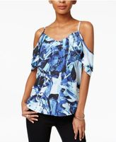 Bar III Draped Off-The-Shoulder Tank Top, Only at Macy's