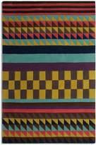 House of Fraser Plantation Rug Co. Origins 100% Wool Rug - 150x230 Mustard