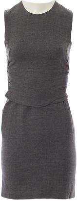 Gucci Grey Wool Dresses