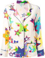 Mira Mikati star print pyjamas - women - Silk - 34