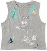 Calvin Klein Fun And Freedom Tank Top, Big Girls (7-16)