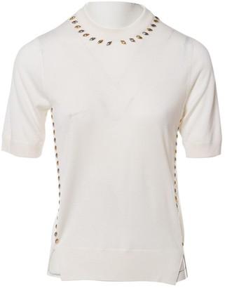 Louis Vuitton Ecru Cashmere Top for Women