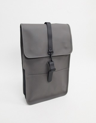 Rains 1220 waterproof backpack in charcoal-Grey