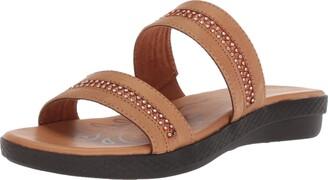 Easy Street Shoes Women's Dionne Flat Sandal