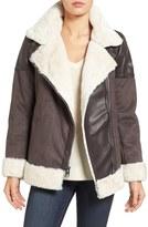 MICHAEL Michael Kors Women's Faux Shearling Jacket