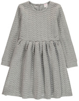 Little Karl Marc John Rotary Fleece Skater Dress