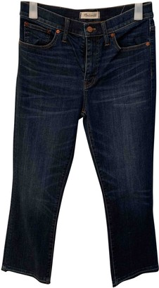 Madewell Blue Cotton - elasthane Jeans for Women