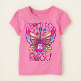 Children's Place Born to rock graphic tee