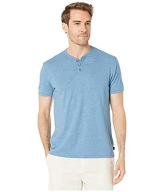 Lucky Brand Men's Linen Henley Shirt