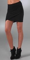 Twisted Wrap Miniskirt