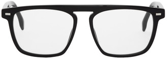BOSS Black Rectangular Glasses