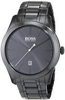 HUGO BOSS Ambassador Modern Men's Quartz Black Analogue Classic Black Ceramic Bracelet 1513223