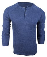 Vince Camuto Men's Thermal Henley Sweater