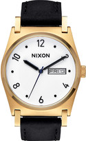 Nixon Jane Leather A955-513-00 stainless steel and leather watch