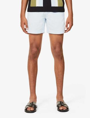 Orlebar Brown Bulldog mid-rise cotton and linen-blend shorts