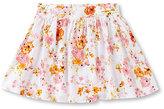 Copper Key 7-16 Floral Print Skater Skirt