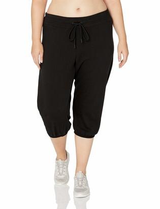 Andrew Marc Women's Plus Size Crop Pant