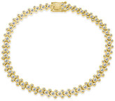 Disney Mickey Mouse Yellow Gold Plated Bracelet Designer Jewelry Collection
