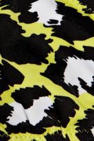 Diane von Furstenberg Ring printed halterneck bikini top