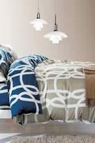California Design Den by NMK Urbana Full/Queen Sized 3-Piece Comforter Set - Taupe/Blue