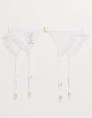 ASOS DESIGN Emily pretty lace suspender
