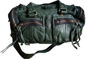 Zadig & Voltaire Sunny Green Leather Handbags