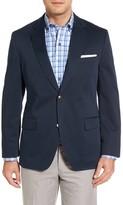 Kroon Men's Mathis Classic Fit Stretch Cotton Blazer