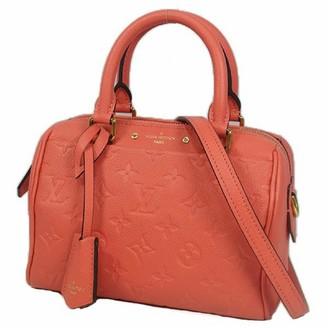 Louis Vuitton Speedy BandouliAre Pink Leather Handbags