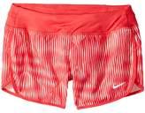 Nike Dry Printed Running Short Girl's Shorts