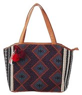 Charlotte Russe Tribal Woven Tote Bag