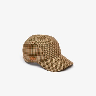 Lacoste Fashion Show Edition Houndstooth Wool Cap