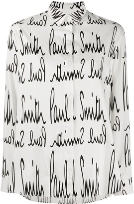 Paul Smith Monogram Print Shirt