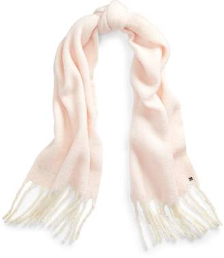 Ralph Lauren Two-Tone Twisted Fringe Scarf