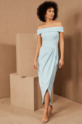 BHLDN Thompson Dress By in Blue Size 16