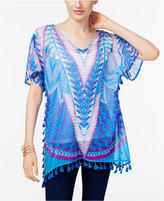 INC International Concepts Popsicle® Tassel-Trim Tunic, Only at Macy's