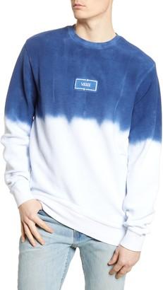 Vans Dip Dye Terry Crewneck Sweatshirt