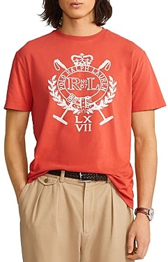 Polo Ralph Lauren Classic Fit Jersey Graphic Tee