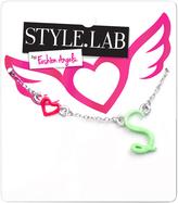 Fashion Angels Seafoam & Silvertone 'S' Initial Pendant Necklace