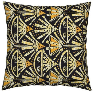 Roostery Cocktail 1920S Art Deco Prohibition Speakeasy Throw Pillow Cover Velve