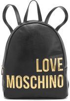 Love Moschino Women's Logo Backpack Black
