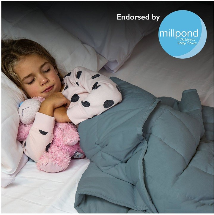 Thumbnail for your product : Rest Easy Sleep Better Weighted Blanket in Grey 3 kg 90 x 120 cm