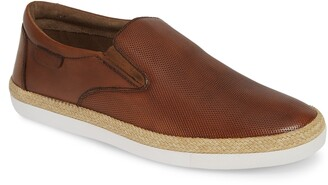 English Laundry Leo Leather Slip-On Sneaker