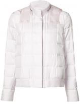 Moncler Gamme Rouge zipped neck hooded jacket